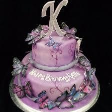 2 Tier Butterfly Birthday Cake Celticcakescom