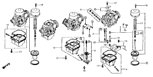 runs rough rpm hondacb one problem this parts diagram is that it doesn t show all the parts that are shown in the parts diagram in the clymer workshop manual