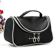 m a c make up cosmetic bag with brush partment waterproof
