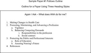 Sample Papers Apa Style Apa Format Part Iv
