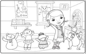 Small Picture Disney Junior Coloring Pages nywestierescuecom