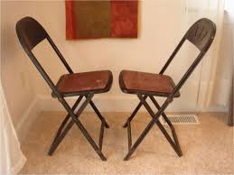 best vintage metal black red mid century modern folding chairs hampden together with folding library chair pics