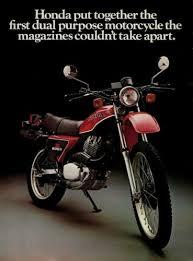 literature 1981 honda xl500 2