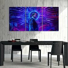 <b>5 Piece</b> John Wick <b>Movie</b> Poster Canvas Painting Keanu Reeves ...