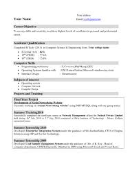 Examples Of Successful Resumes Effective Resumes for Freshers Krida 56