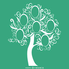 Family Tree Picture Template Green Family Tree Template Vector Download