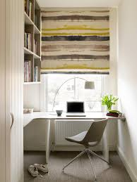 putney loft conversion contemporary home office idea in london with white walls carpet and a built built in office furniture ideas