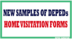 New Samples Of Home Visit Forms Deped Tambayan Ph