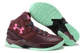 under armour basketball shoes. under armour curry 2 maroon pink light green cool basketball shoes