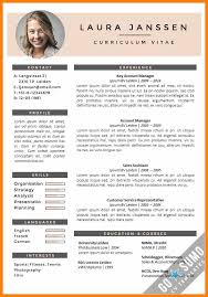 Cv Resume Sample Filetype English Example Pdf Printable Of