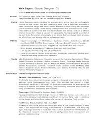 Resume For Freelance Designer Sample Graphic Designer Resume ...