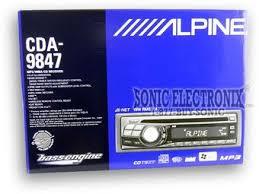 alpine cda 9847 (cda9847) all car stereos sonic electronix Alpine CDA 9855 at Alpine Cda 9847 Wiring Harness