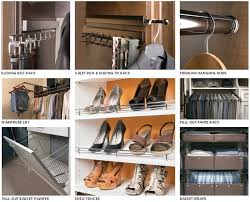 from bins and baskets to racks and rods all types of closets benefit from organization accessories here are some of our most common closet accessories