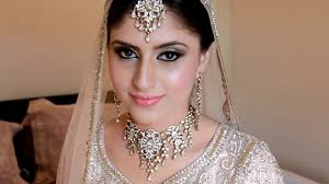 real indian and stani bridal makeup and hairsadaf wan