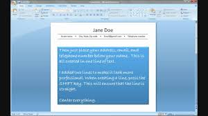 Fmp Tutorial Create A Resume Using Powerpoint Youtube