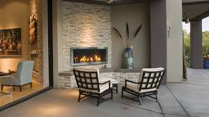image of outdoor electric fireplace type