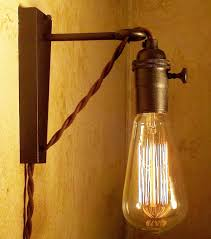 Cool wall lights Ideas Two Hanging Pendant Edison Lamps Via Etsy Nationonthetakecom Two Hanging Pendant Edison Lamps Via Etsy Steampunkd