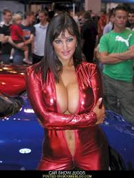 Big tits and show cars