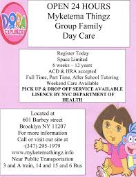 home daycare flyers templates images daycare flyers abacoconsultores es ve crafty advertising