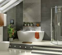 ... 1000 Images About Your Home Bathrooms On Pinterest Metal Walls Design  Trends And Wood Tile Bathrooms ...