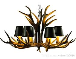 white antler chandelier for faux idea abovesearch com