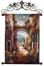 italian wall art best wall decor ideas on intended for rustic wall art tuscan wall art