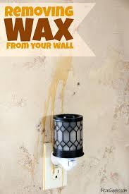 remove candle wax from wall how to remove candle wax from painted walls home s sf remove candle wax from wall