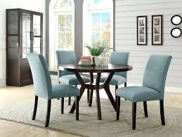espresso table and chairs 5 drake espresso finish wood round dining table set this set includes