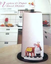 chef paper towel holder fat chef paper towel holder napkin pampered chef paper towel holder chef paper towel