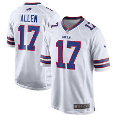 Jersey Allen Nike Game Josh - Buffalo Bills White bffbfaef|Bills Face Stiff Test From Bears