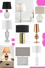 stylish affordable table lamps edit the elgin avenue