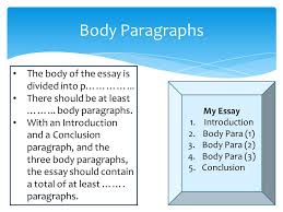 yr how to study literature and how to write an essay ppt video 34 body paragraphs
