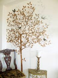 wall stencil large tree stencil free birds wall stencils wall decor