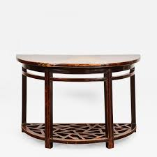 listings furniture tables console pier tables 18th century chinese half round table