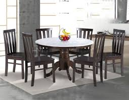 7838 round marble dining set