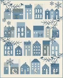 Village Quilt Pattern by Edyta Sitar -Laundry Basket Quilts & Winter Village Quilt Pattern by Edyta Sitar -Laundry Basket Quilts Adamdwight.com