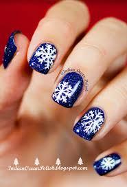 Indian Ocean Polish: Christmas 2013 Nail Art Ideas: Simple and Not ...
