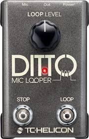 Педаль <b>TC Helicon</b> Ditto <b>Mic</b> Looper, <b>TC Helicon</b> в Москве ...