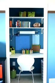 hidden desk furniture. Closet Computer Desk Hidden Furniture A Mini Office In With Hutch Plans
