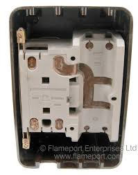 bill crown 4 way brown plastic fuse box back of a bill crown plastic fusebox