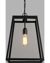 black lantern pendant. Simple Pendant FourSided Glass Hanging Pendant Lantern Black By World Market And Lantern G
