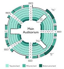 Young Vic Seating Chart Seating Plan New Vic Theatre