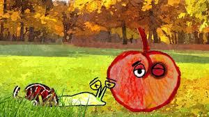 Dessin De Poesie La Pomme Et Lescargot