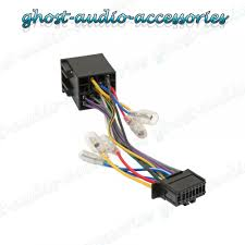 pioneer 16 pin iso wiring harness connector adaptor car stereo radio iso wiring harness connector 1 of 1free shipping