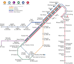San Jose Light Rail Map List Of Muni Metro Stations Wikipedia