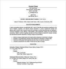 Lawyer Resume Interesting 28 Lawyer Resume Templates DOC Excel PDF Free Premium Templates