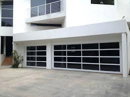 decorating glass garage doors cost garage inspiration