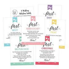 6 cute wedding milestones gift wine bottle labels or sticker ers bridal shower bachelorette