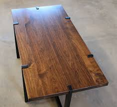 Black Walnut Coffee Table Coffee Tables And Consoles Higgins Fabrication