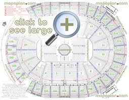 State Farm Arena Seating Chart With Seat Numbers 67 Systematic Phillips Arena Layout